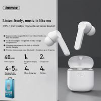 Remax TWS Earphone bluetooth 5.0 Wireless Stereo Headset Smart Touch Control Earbuds With Mic