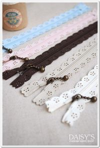 Lace Short Zippers