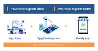 """""""Have a brilliant app idea, but don't know how to execute it?    We are passionate about creating outstanding mobile app solutions that create value for your business and lead to success."""""""