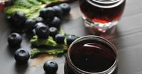 Blueberry Mint Infused Tequila, tequila is infused with plump blueberries and vibrant mint.