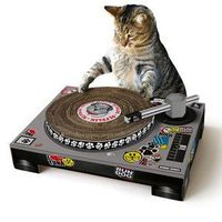 Cat Scratch DJ Deck Toy, $27, now featured on Fab.