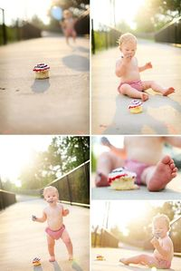 Could do this on the bike path bridge. Love this 1 Year Birthday Shoot - Photography by Grethel Van Epps