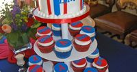 University of Arizona graduation cupcake tower. It even has my name on it!