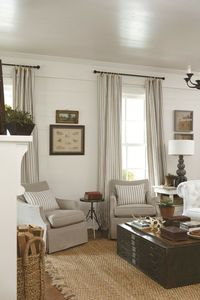 Living Room Reno: Inspiration, Gameplan and a Fireplace Mantel - neutral coziness
