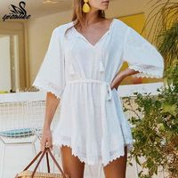 Bikini White Beach dress $26.92