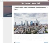 9 Answers Home Sellers Should Never Share With Home Buyers  Are you ready to put your house on the market? Have you been thinking about hiring a real estate agent to sell your home? https://mylovinghousenet.blogspot.com/