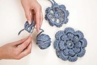 How to Join Crocheted Motifs. Crocheted motifs are individually created shapes: flowers, stars, geometrical forms or afghan squares. Crocheters often join motifs together to make blankets, scarves, cushions or other artistic pieces. The fastest way to joi...