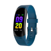 "XANES MK04 0.96"" IPS Color Screen Smart Bracelet IP67 Waterproof Pedometer Heart Rate Monitor Blood Pressure Sports Watch Wristband"