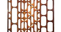 "México 1950s ""Fantastic and unique wooden screen from the best of Mexican Modernism era. Made for a house in Pedregal, Mexico City during the 1950s, this screen consists of three separate pieces that go intertwined."""