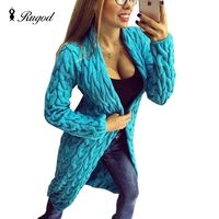 2018 New Fashion Women Knitted Sweater Coat Autumn And Spring Long Sleeve Cardigan Jacket Female Casual Outwear Tops pull Femme $81.84