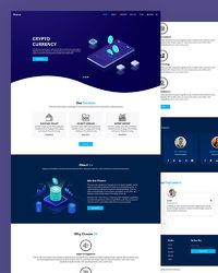 """https://html.design/download/finexo-crypto-currency-website-template/ Finexo �€"""" Free Crypto Currency Website Template designed for bitcoin, blockchain, coin currency, cryptocurrency, currency, Currency Exchange, digital currency, exchange cur..."""