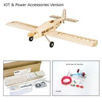 T90-Tractors 2.1M Gas Powered Fixed Wing KIT 2130mm Wingspan Light Wood Balsa Oil RC Trainer Airplane KIT