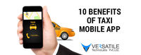 With your taxi mobile app user can go to the your app and book a cab from app. Its become very for your user to navigate ride and book. Here is 10 awesome benefits you can read about taxi mobile app development.