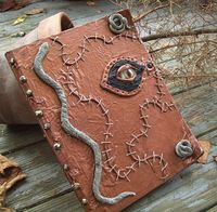 Hocus Pocus Spell BOOK with MOVIE SPELLS Witch by WitchOnWheels