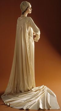 1929 Wedding Ensemble by Edward Molyneux, via The Los Angeles County Museum of Art.