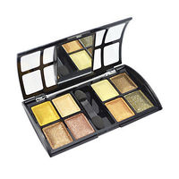 8 Colors Soft Shimmer Eye Shadow with Free Brush (Gold Series)