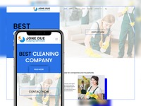 Jone Due - Cleaning Website Template is one of the best clean web template that will put your cleaning service on top & help you grow your online business.   @ http://bit.ly/CleaningWebsiteTemplate