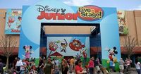 """Disney Junior �€"""" Live on Stage! (originally Playhouse Disney - Live on Stage! until 2011) is a show based on Disney Junior's television shows, specifically Micke"""