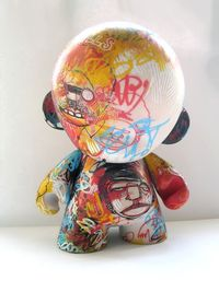 "Grafro 7"" Custom Munny by David Bishop - probably my favourite"