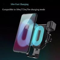 Bakeey 10W 7.5W 5W Infrared Induction Fast Charging Wireless Charger For iPhone 11 Max Pro XS Huawei P30 Pro Mate 30 Xiaomi 9 Pro S10+