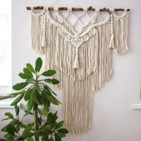 Hand Woven Tapestry Macrame Wall Hanging $169.99