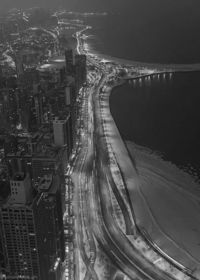chicago. http://serendiipitty.tumblr.com/post/38415869329/black-and-white-gifs-chicago-dominic