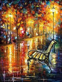 "Forgotten Dream �€"" PALETTE KNIFE Oil Painting on AfremovArtGallery, $339.00"