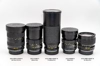 Five Various LEICA R lenses in Excellent++ Condition! $495.00