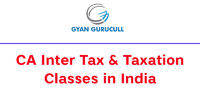 Gyan Gurucull runs CA Inter Taxation Classes in India by our top faculty Jassprit Johar. We provide the best CA Inter tax classes in all over India through offline and online mode. Know more call: +91-8010921000 or visit https://www.gyangurucull.com/