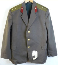 Daily Jacket Tunic Original Soviet USSR Russian Officer Uniform Military L Size $42.00