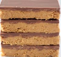 Reeses Peanut Butter No Bake Bars | Candy Recipes