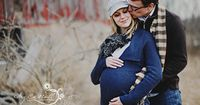 Okay... so I am not pregnant or anywhere CLOSE to having a child, but I had topostthis because they are the best maternity pics I have seen. So lovely. Way to go couple in the photo shoot!