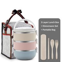 Thermal Big Capacity Microwavable Lunch Box $36.29
