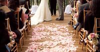 Gorgeous aisle and canopy! Photo by JulieMikos.com