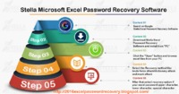 Stella Microsoft excel password recovery software perfectly recover, remove, unlock Ms Excel password protection using an advance technology as brute force attack, mask attack and dictionary attack.