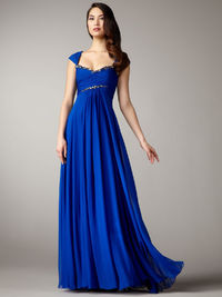 Prom Dresses Square Floor Length Chiffon Ruffles Sequins Off The Shoulder