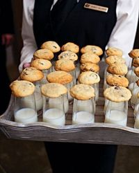 cookies and milk is going to be a must at my wedding