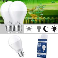 2PCS/lot E27 7W LED Light Bulb with Motion Sensor