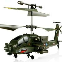 SYMA S109G 3.5CH Beast RC Helicopter RTF AH-64 Military Model Kids Toy