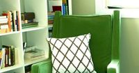 we have a green chair similar to this a little brighter (lime-ish) green