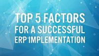 The most important factors affecting to an ERP implementation is to helping businesses to enhance their profits and activities through the power of ERP.