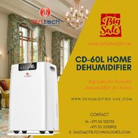 Dehumidifiers are very important for humid home to protect health of your love ones. home CtrlTech has announced big home dehumidifier sale. #dehumidifier #AirDehumidifier #SmallDehumidfiier