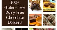 More than 100 gluten-free, dairy-free chocolate dessert recipes all in one place! There are gluten-free, dairy-free cakes, cookies, pastries, bars, frozen desserts and more!