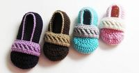 Ravelry: Toddler Strappy Booties pattern by Briana Olsen