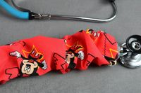 Stethoscope Cover - Mickey Mouse (Red Background) $7.99
