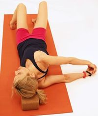 Eight Point Shoulder Opener Opens shoulders, releases tension in neck and spine