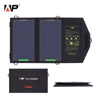 ALLPOWERS 5V 10W Portable Solar Charger Sun Power Solar Panel Power Bank Charger for Smartphone