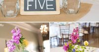 Chalkboard Table Numbers - PHOTO SOURCE �€� VIRTU PHOTOGRAPHY