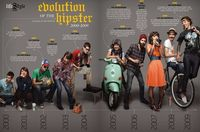 The Evolution of the Hipster 2000-2009 (from www.pastemagazine.com/articles/2009/12/the-evolution-of-the-hipster-2000-2009.html)