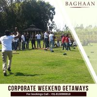 Corporate Getaways at Baghaan!
